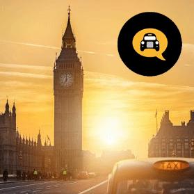 London Black Cab Wedding Photography